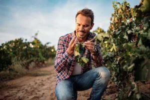 a man gardening as part of his drug addiction treatment program