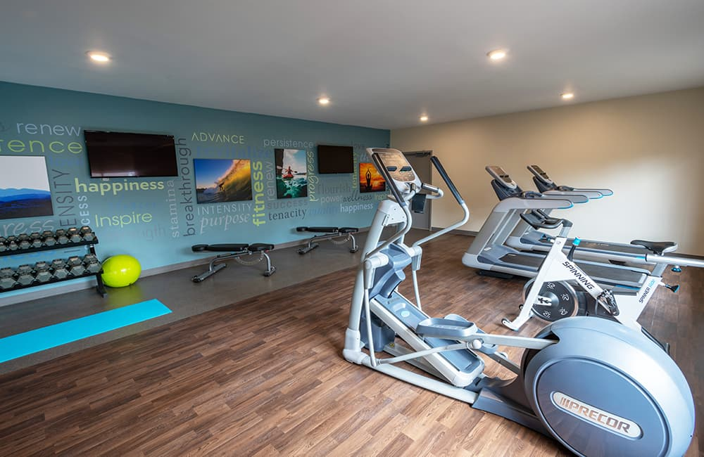 ethan crossing photo gallery exercise room