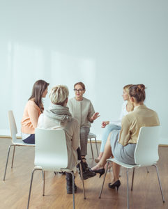 cognitive-behavioral therapy at a treatment center in Ohio
