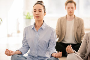 yoga therapy at a rehab center in Ohio