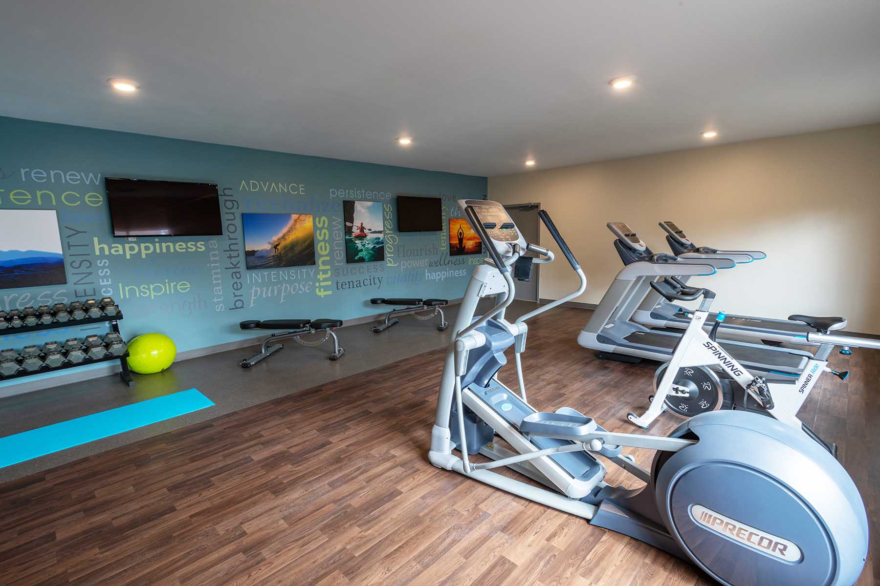 physical fitness in recovery